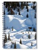 Idarado In The Winter Spiral Notebook