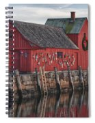 idle tyme at Motif 1 Spiral Notebook