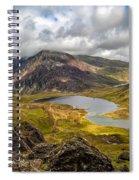 Idwal Lake Snowdonia Spiral Notebook