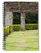 Idyllic Garden Spiral Notebook