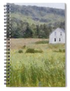 Idyllic Isolation Spiral Notebook