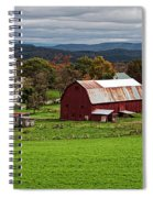 Idyllic Vermont Small Town Spiral Notebook