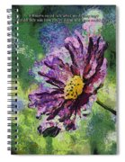 If Flowers Could Talk 04 Spiral Notebook