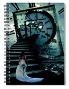 If I Could Go Back In Time Spiral Notebook