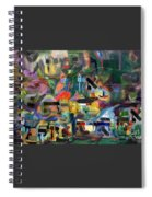 If There Is No Flour There Is No Torah 3 Spiral Notebook