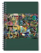 If There Is No Flour There Is No Torah 8 Spiral Notebook