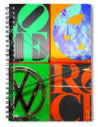 If You Are Going To San Francisco Be Sure To Wear Flowers In Your Hair 20140665 Square Spiral Notebook