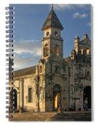 Iglesia De Guadelupe In Granada Nicaragua Spiral Notebook