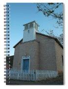 Iglesia De Jaun Batista Lincoln City New Mexico Spiral Notebook