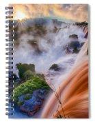 Iguazu Sunrise Spiral Notebook