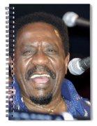 Musician Ike Turner Spiral Notebook