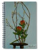 Ikebana Dancers Spiral Notebook