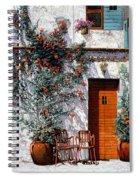 Il Cortile Bianco Spiral Notebook