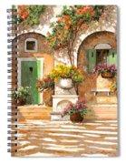 Il Cortile Spiral Notebook