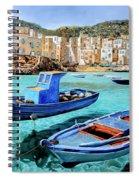Il Mare Smeraldo Spiral Notebook