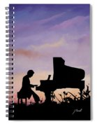 Il Pianista Spiral Notebook