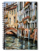 Il Ponte E I Pali Spiral Notebook