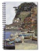 il porto di Sorrento Spiral Notebook
