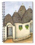 Il Trullo Alberobello Spiral Notebook