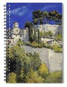 Il Villaggio In Blu Spiral Notebook