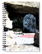 I'll Be Back By Jrr Spiral Notebook