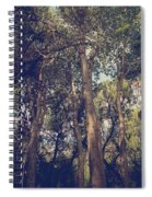 I'll Float Up Into The Wavy Trees Spiral Notebook