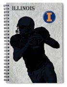 Illinois Football Spiral Notebook
