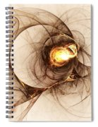 Illusion Of Choice Spiral Notebook