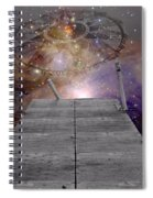 Illusion Of Time Spiral Notebook