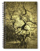 Illusion Tree Spiral Notebook