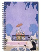 Illustration From A Book Of Fairy Tales Spiral Notebook