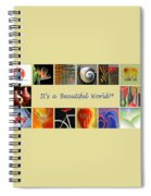 Image Mosaic - Promotional Collage Spiral Notebook