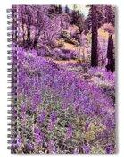 Img 4892_ Purple Lupine_ Yosemite National Park  Spiral Notebook