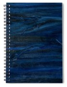 Immense Blue Spiral Notebook