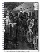 Immigrant Coach Car, 1881 Spiral Notebook
