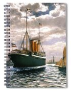 Immigrant Ship, 1893 Spiral Notebook