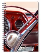 Red Belair With Dice Spiral Notebook