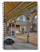 Imperial Hall Of Harem In Topkapi Palace Spiral Notebook
