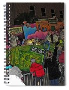 Imperial Laundry Spiral Notebook
