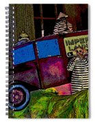 Imperial Laundry Truck Spiral Notebook