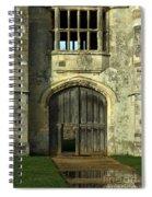 Imposing Front Door Of Titchfield Abbey Spiral Notebook