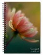 Impressionist Dahlia Spiral Notebook