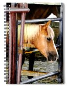 Impressionist Horse Spiral Notebook