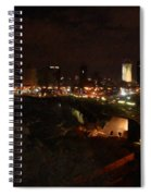 Jaffe At Night Spiral Notebook