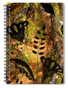 Impressions - Forest - Flowers Spiral Notebook