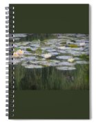Impressions Of Monet's Water Lilies  Spiral Notebook