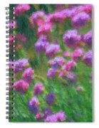 Impressions Of Purple Spiral Notebook
