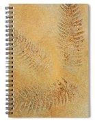 Imprints - Abstract Art By Sharon Cummings Spiral Notebook
