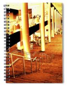 In A City Of Gold Spiral Notebook