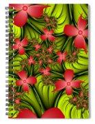 In A Flower Meadow Spiral Notebook